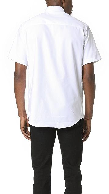 DSQUARED2 Short Sleeve Chevron Shirt