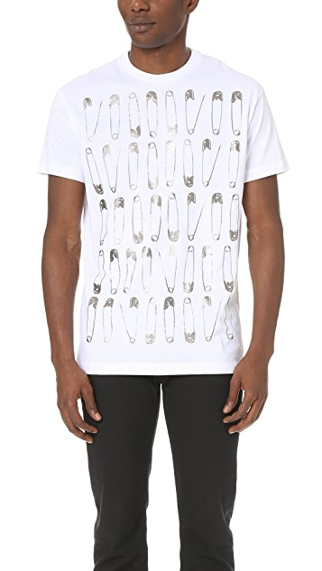 DSQUARED2 Multi Safety Pin Tee