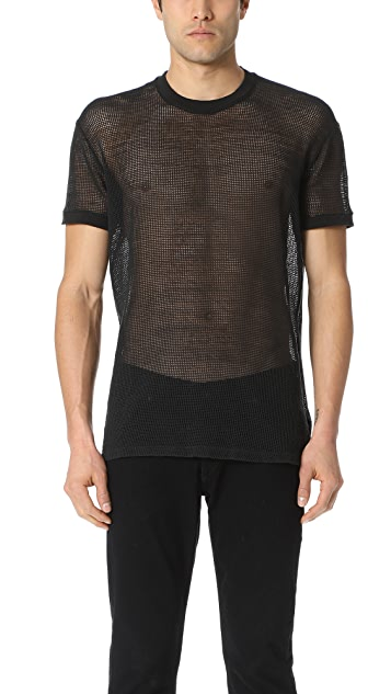 DSQUARED2 Mesh Tee