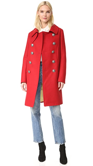 DSQUARED2 Military Double Breasted Coat