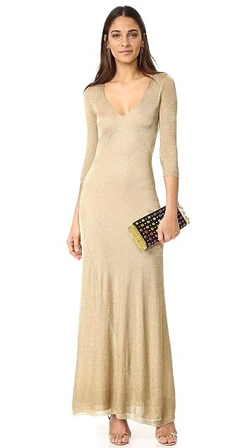DSQUARED2 Long Sleeve Maxi Dress