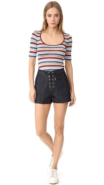 DSQUARED2 Striped Shirt