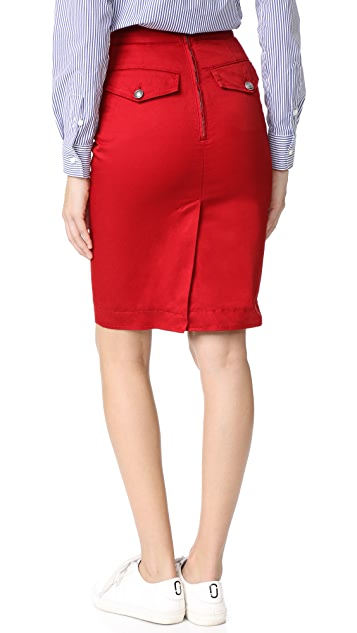 DSQUARED2 High Waisted Pencil Skirt