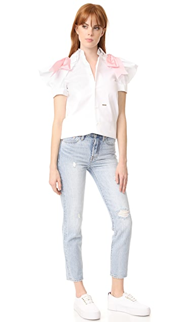 DSQUARED2 Puff Short Sleeve Top
