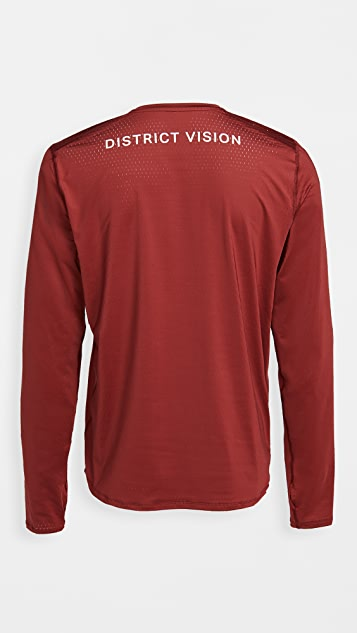 District Vision Air-Wear Long Sleeve Tee