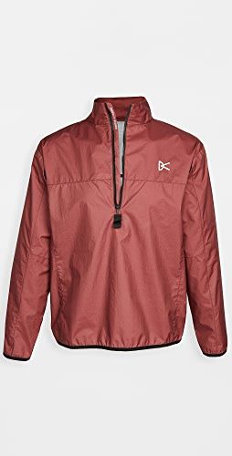 District Vision - Thero Quarter Zip Pullover Shell Jacket