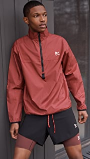 District Vision Thero Quarter Zip Pullover Shell Jacket