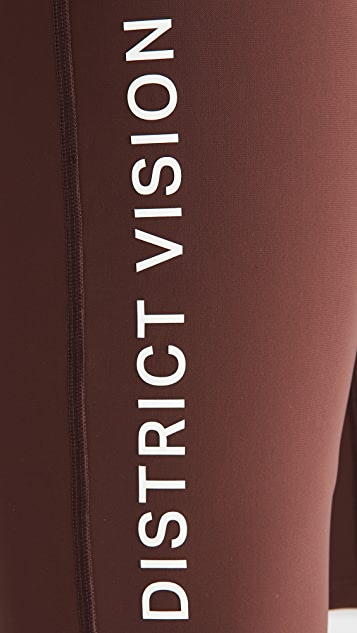 District Vision TomTom Half Tights