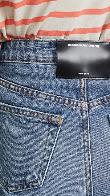 Denim x Alexander Wang Шорты Bite