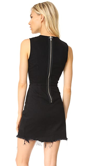 Denim x  Alexander Wang Zip Dress