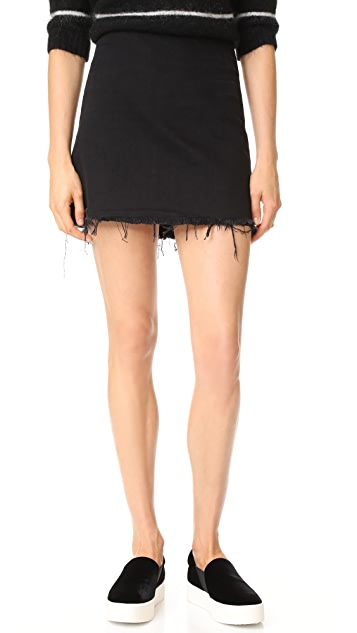 Best Store To Get Cheap Price 5 Pocket Zip Skirt in Black Alexander Wang Popular Authentic Clearance Online Cheap Real pAjZT