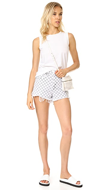Denim x  Alexander Wang Bite Cutoff Shorts