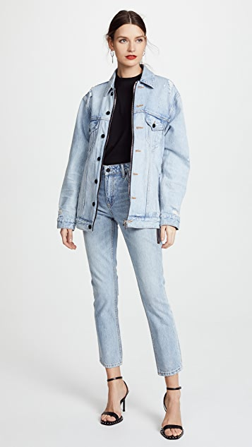 Denim x  Alexander Wang Daze Zip Jacket