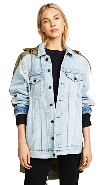 Denim x  Alexander Wang Daze Jacket