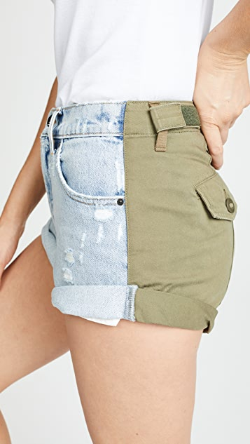 Denim x  Alexander Wang Hike Shorts