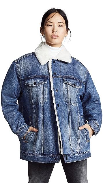 Denim x  Alexander Wang Rift Jacket