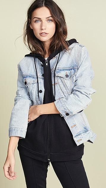 Denim x  Alexander Wang Joint Mix Jacket
