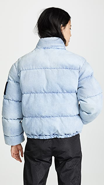 Denim x  Alexander Wang Puffer Jacket