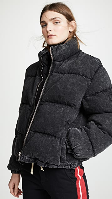 Denim x  Alexander Wang Puffer Jacket
