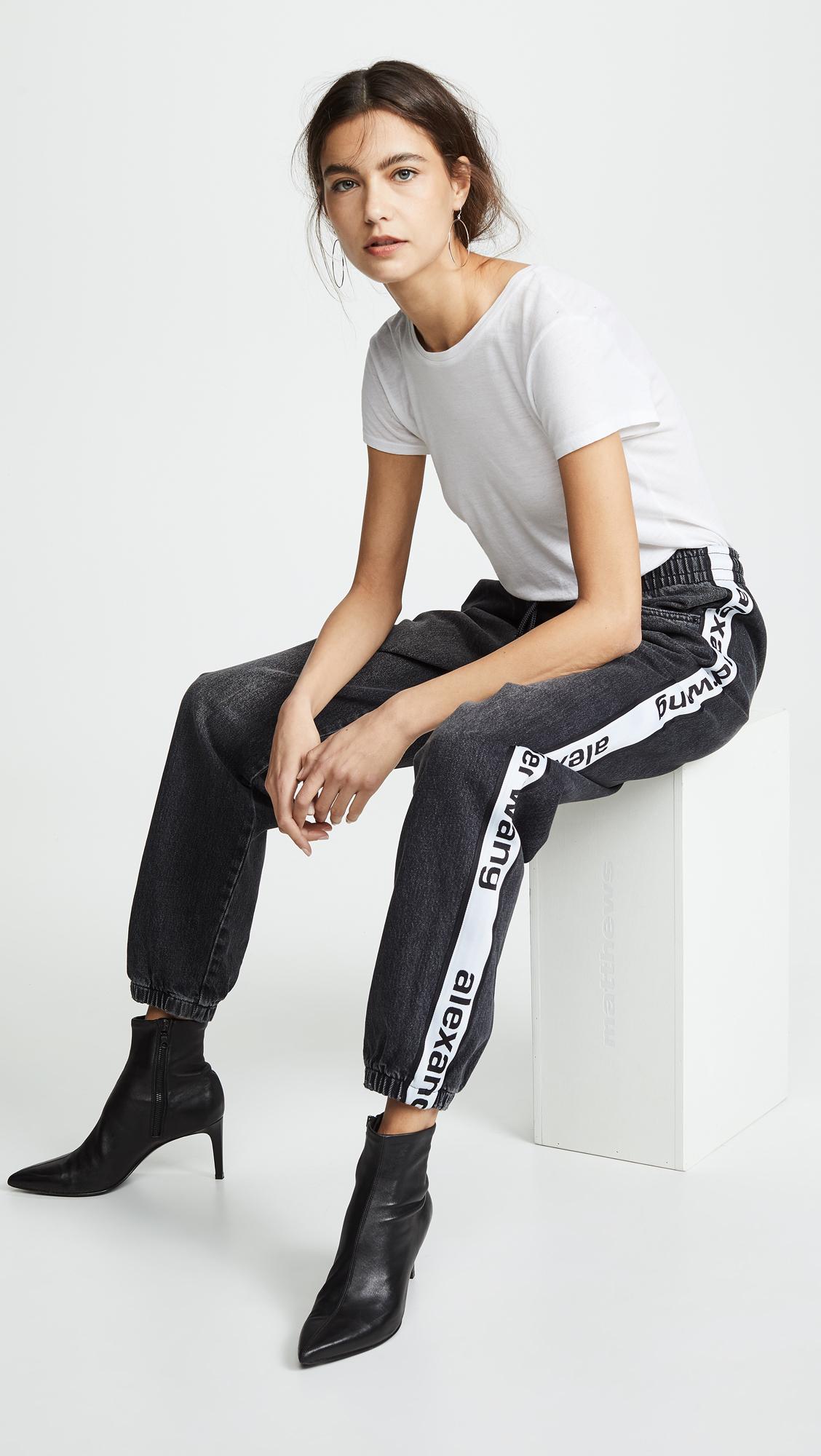 Jeans of the Week: Denim x Alexander Wang Track Pants
