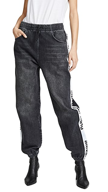 Denim x  Alexander Wang Track Pants