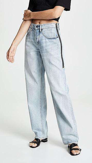Denim x  Alexander Wang Contra Oversized Jeans