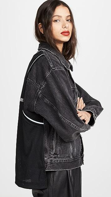 Denim x  Alexander Wang Game Jacket
