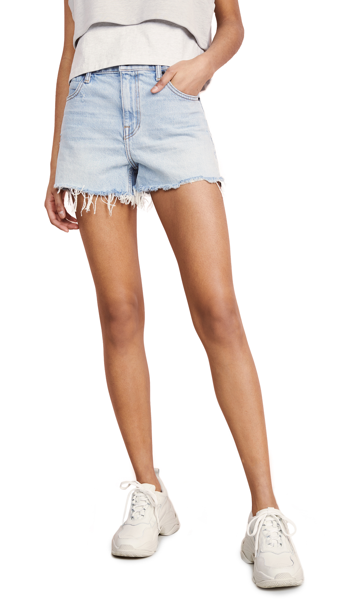 Denim x Alexander Wang Bite Shorts