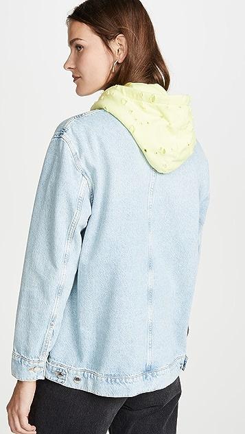 Denim x Alexander Wang Пижамная рубашка