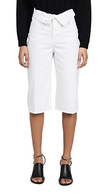Denim x Alexander Wang Runway Scout Flip 短裤