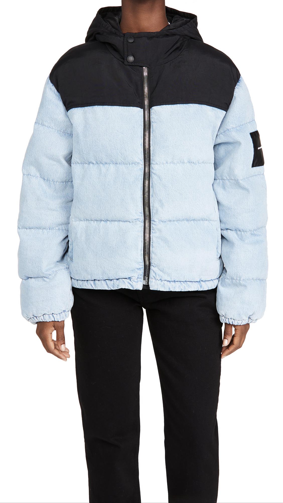 Denim x Alexander Wang Puffer Hybrid Jacket
