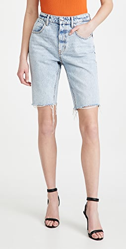 Denim x  Alexander Wang - Bike Shorts