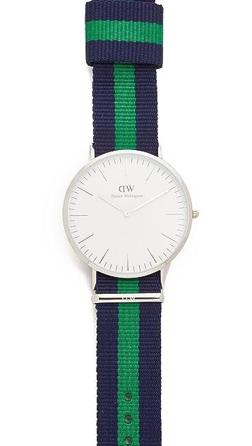 Daniel Wellington Warwick 40mm Watch with Nato Strap