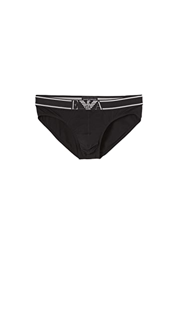 Emporio Armani Cotton Modal Briefs