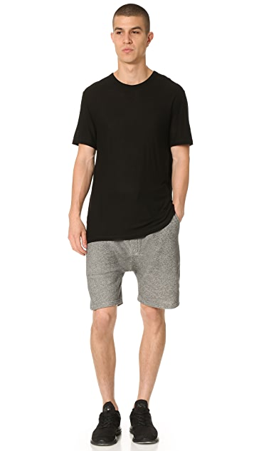 Emporio Armani French Terry Sweat Shorts