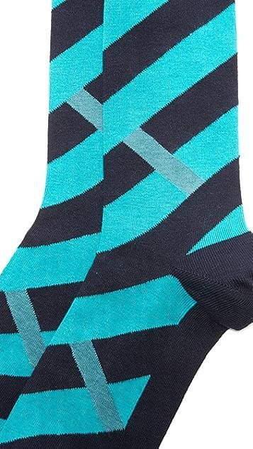 Emporio Armani Stretch Cotton Crew Socks
