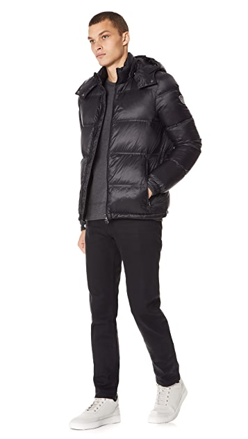 Emporio Armani Mountain Hooded Down Jacket