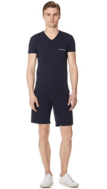 Emporio Armani Core Logo Band Slim Fit Tee
