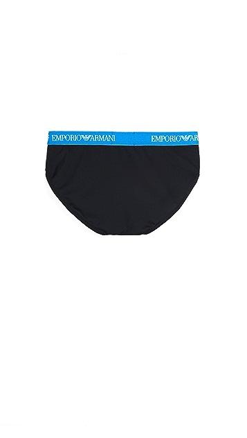 Emporio Armani Essential Microfiber Briefs