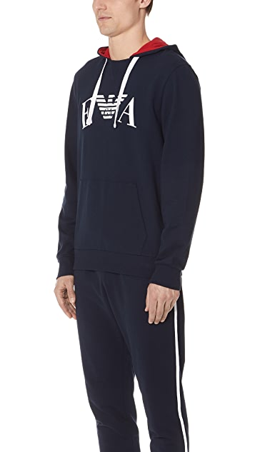Emporio Armani Iconic Terry Loungewear Hoodie
