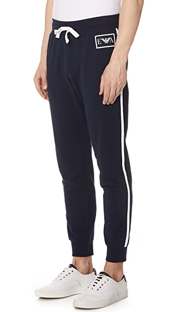Emporio Armani Iconic Terry Lounge wear Jogger Trousers