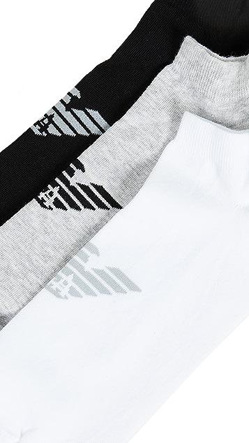Emporio Armani Basic Sneaker Socks 3 Pack