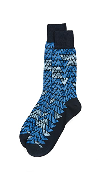Emporio Armani Mercerized Premium Cotton Socks