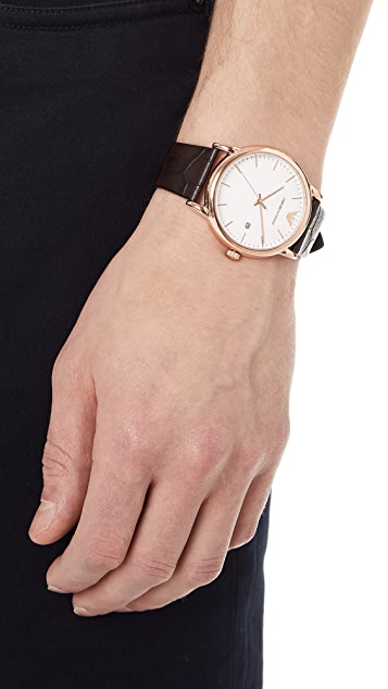 Emporio Armani Luigi Slim Watch, 43mm