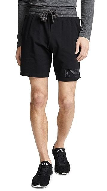 Emporio Armani Melange Terry Sweat Shorts