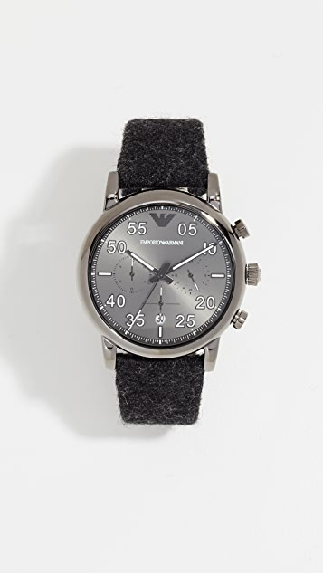 Emporio Armani Luigi Watch, 43mm
