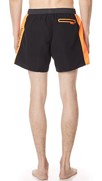 EA7 by Emporio Armani SW Colorblock Swim Shorts