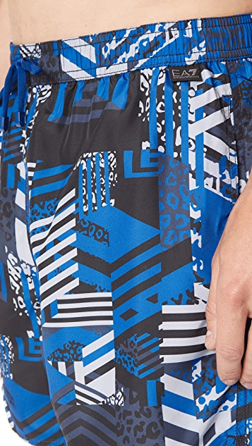 EA7 by Emporio Armani Visibility Swim Trunks