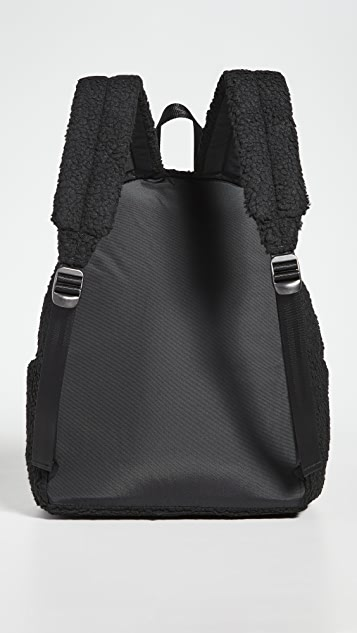 Eastpak Faux Shearling Padded Pak'r Backpack