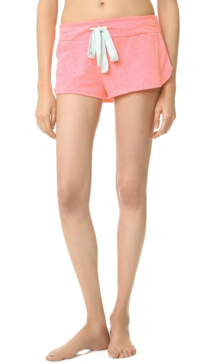 Eberjey Womens Heather Shorts